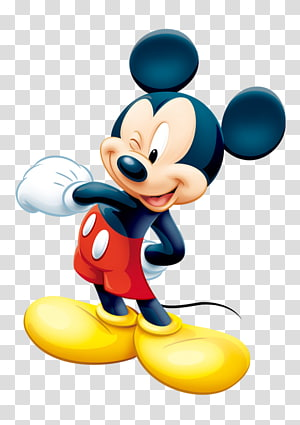 Ilustração de Mickey Mouse, Mickey Mouse Minnie Mouse Mouse de computador, Mickey Mouse PNG clipart