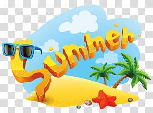 Summer, Summer Deco, ilustração de verão PNG clipart