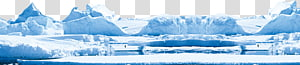 neve branca, geleira iceberg, iceberg PNG clipart