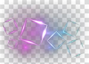 ilustração de quadrados cor de rosa e azul-petróleo, padrão de triângulo claro, caixa PNG clipart