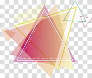 pirâmide ilustração multicolorida, triângulo desenho vermelho, triângulo vermelho PNG clipart