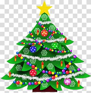 Árvore de Natal, ilustração de Natal PNG clipart