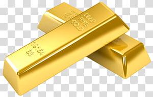 Produto Design Hardware de computador do retângulo, ouro, duas barras de ouro finas png