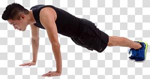 homem fazendo flexão, exercício físico exercício de peso corporal treinamento intervalado de alta intensidade haltere, homem exercitar png