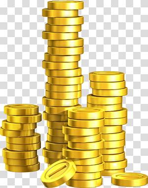 ilustrações de moedas de ouro, New Super Mario Bros. U, moedas de ouro png