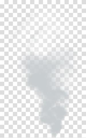 Fumo preto e branco, fumaça, fumaça bege e branca PNG clipart