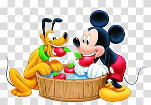 Mickey Mouse Pluto Minnie Mouse Pateta Donald Duck, Mickey Mouse e Plutão, Disney Plutão e Mickey Mouse ilustração PNG clipart