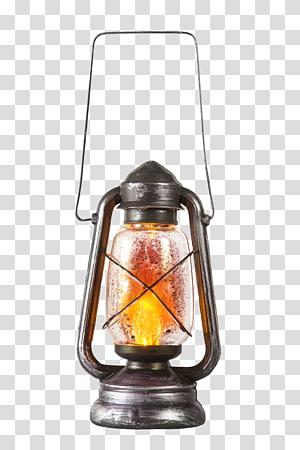 lanterna de gás cinza, iluminação lanterna luminária lâmpada, lanterna PNG clipart