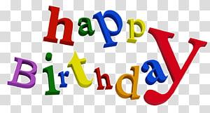 Bolo de aniversário, feliz aniversário, gráficos de texto feliz aniversário png
