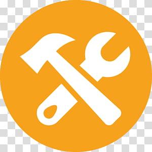 ilustração de martelo e chave, troca de criptomoeda do logotipo do Bitcoin Cash, ícone de manutenção png