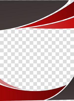 Euclidiana, decoração vermelha fronteira fundo, logotipo vermelho e preto png