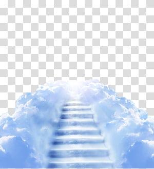 nuvens e escada para o céu, Light Sky Stairs Cloud, escada de nuvem PNG clipart