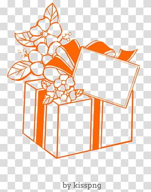 feliz aniversário presente, caixa de presente., presente PNG clipart