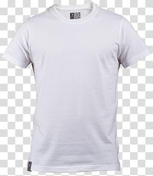 Suéter com capuz e camiseta estampada, camiseta branca lisa, camiseta com gola branca PNG clipart