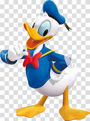 Ilustração do Pato Donald da Disney, Pato Donald: Goin \ 'Quackers Daisy Duck Minnie Mouse Mickey Mouse, pato donald PNG clipart