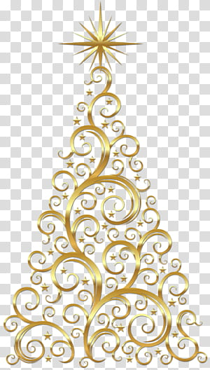 Árvore de Natal dourada, árvore de Natal dourada PNG clipart