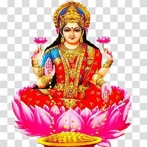 Ilustração digital de Lakshmi, Ganesha Hanuman Lakshmi Laxmi Pooja, Lakshmi s PNG clipart