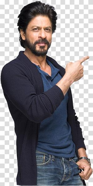 homem vestindo camisa polo azul e casaco de lã, shah rukh khan kabhi khushi kabhie gham ... citação de ator bollywood, ator PNG clipart