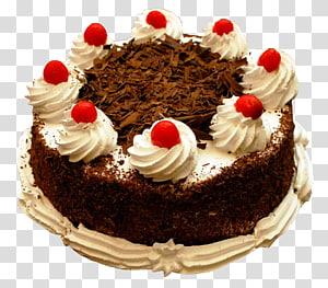 bolo floresta negra, bolo de aniversário bolo de chocolate bolo de natal bolo de frutas bolo de casamento, bolo de aniversário png