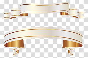 Bandeiras brancas, rolo da fita do ouro png