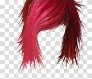 peruca de cabelo vermelho, cabelo preto coloração de cabelo penteado, cabelo PNG clipart