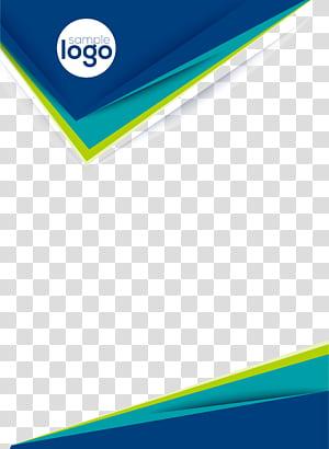 Folheto modelo de folheto, desenhos de livros criativos, cartaz de logotipo de amostra PNG clipart