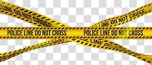 a linha de polícia não se cruza, fita de barricada de crime policial Fita adesiva, fita de barricada de crime policial png