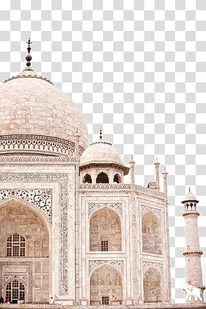 Taj Mahal Jaipur Golden Triangle New7Wonders of the World Travel, Uma vista do Taj Mahal PNG clipart