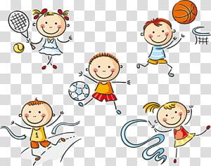 ícone de esportes praticando esportes, educação física PNG clipart