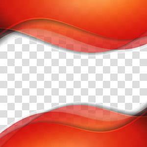 Geometria diferencial abstrata euclidiana, material de fundo de moda textura geométrica, azul e vermelho ondulado png