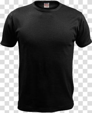camiseta preta com gola alta, camiseta Under Armour Sleeve Polo, camiseta preta PNG clipart