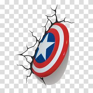 Marvel Comics Escudo do Capitão América, escudo do Capitão América Homem-Aranha Luz S.H.I.E.L.D., capitão América png
