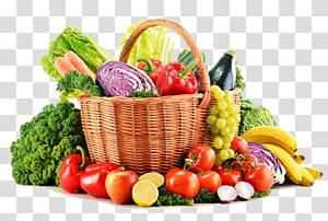 cesta de frutas e legumes, alimentos orgânicos suco de frutas cesta de legumes, vegetais s PNG clipart