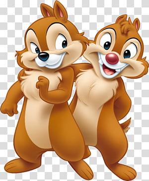 Ilustração de Chip e Dale Chipmunks, Plutão Mickey Mouse Pato Donald Minnie Mouse Pateta, esquilo PNG clipart