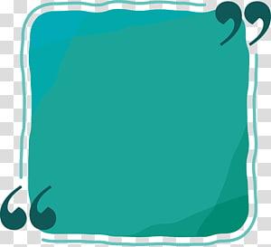 quadrado azul, arquivo de computador de referência retangular, caixa de referência retangular verde png