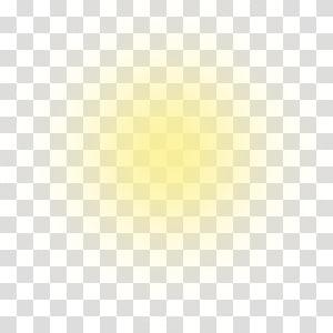 Luz amarela Halo Eficácia luminosa, raios de sol, cor amarela do borrão PNG clipart