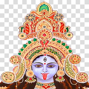 ilustração de Deus hindu, kali shiva durga deusa parvati, deusa durga mata PNG clipart