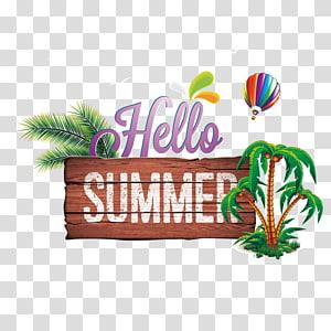 Verão, Olá Verão, Olá Verão PNG clipart