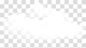 ilustração de nuvens brancas, padrão de marca preto e branco, nuvens PNG clipart