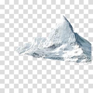 Peak Mountain Televisão de alta definição Mount Everest, iceberg PNG clipart
