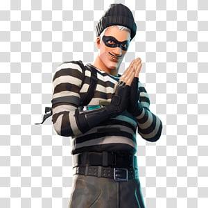 personagem masculino com ilustração de máscara, Fortnite Battle Royale Epic Games Battle royale jogo YouTube, skin de basquete de fortnite png