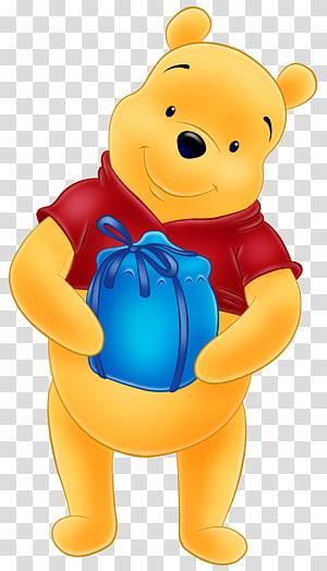 Ilustração de Ursinho Pooh, Ursinho Pooh Ursinho Pooh Tigre Leitão, Ursinho Pooh Grátis PNG clipart