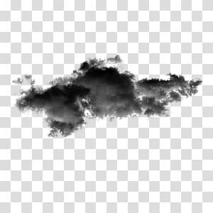 Ícone de visualização, nuvens escuras PNG clipart