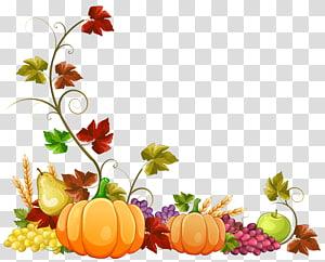 ilustração de legumes, outono, decoração de abóbora de outono PNG clipart