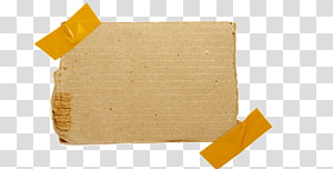 caixa de papelão marrom, fita adesiva de papel Nota musical, notas de fita png