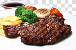 carne grelhada, restaurante Chophouse Beefsteak Sanduíche de carne Costelas, bife grelhado PNG clipart