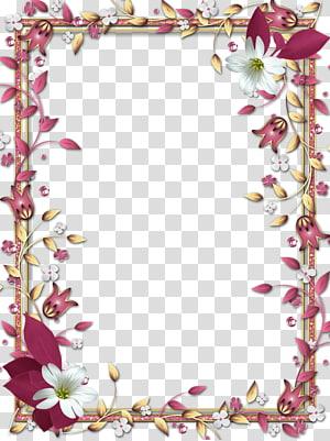 frame, Mood Frame s, moldura digital floral vermelha e branca png