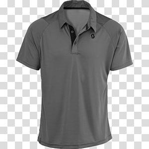 camisa polo cinza, camiseta polo, camisa polo PNG clipart