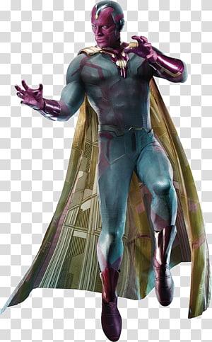 Marvel Vision illustration, Visão Capitão América Homem-Formiga Estados Unidos Viúva Negra, capitão maravilha PNG clipart