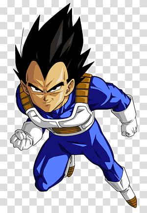 Ilustração de Dragon Ball Z Vegeta, Vegeta Goku Trunks Majin Buu Nappa, Vegeta HD png